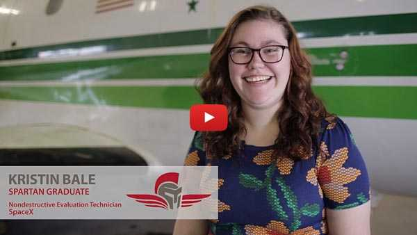 Kristen Bale - Spartan College Graduate