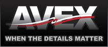 Avex logo - When the details matter