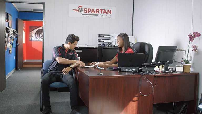 Spartan College student admissions