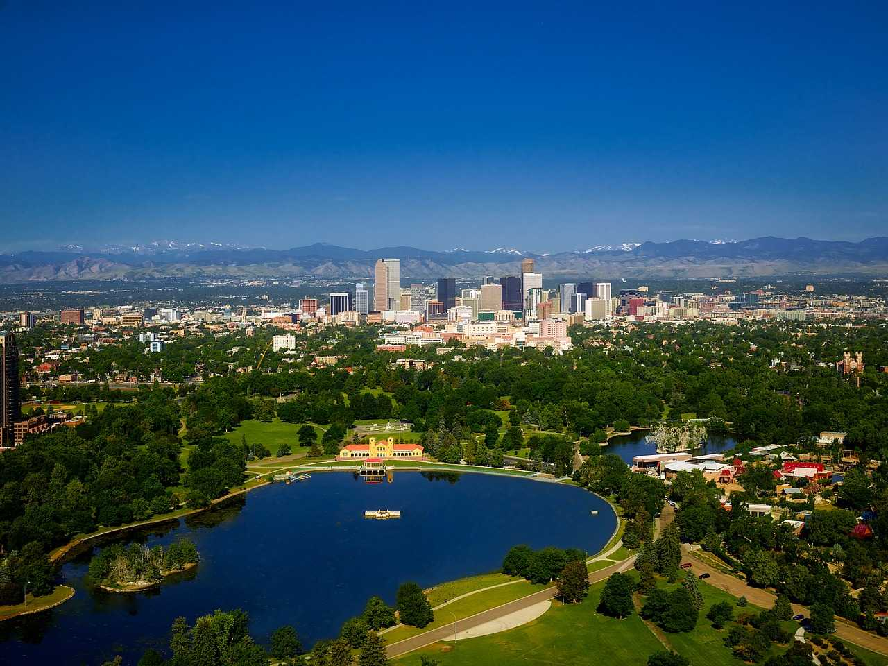Aerial photo of Denver Area - Spartan College