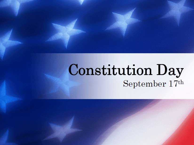 Constitution Day - September 17th