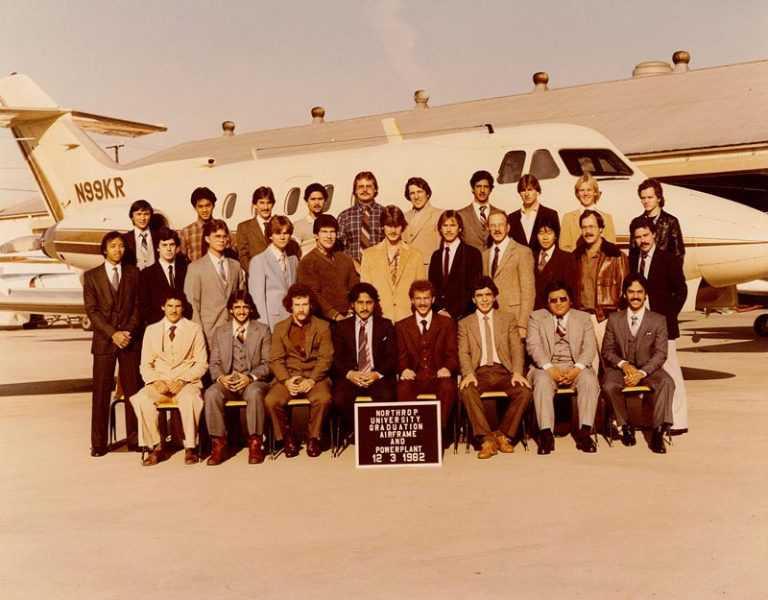 Crimson Graduation Class 1982