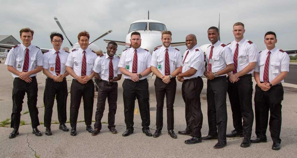 Spartan College Flight Students