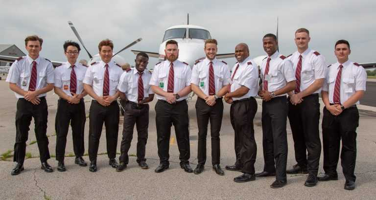 Spartan College Flight Students