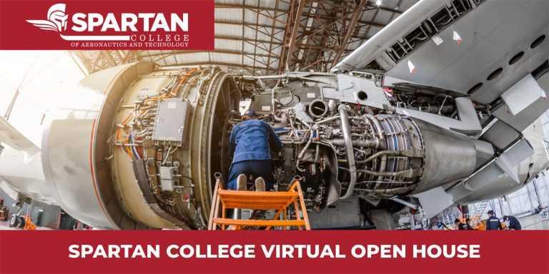 Spartan College Virtual Open House Banner