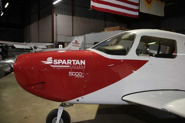 Spartan College 5000th Archer Plane