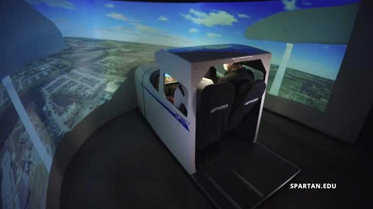 Spartan College Flight Simulator