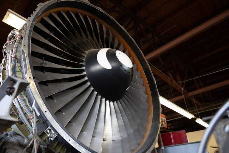 turbine slanted