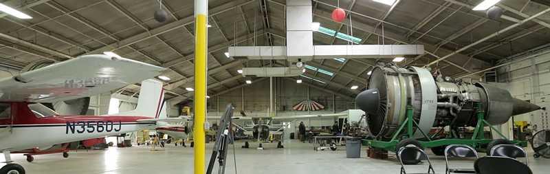 LA AMT Hangar Spartan College
