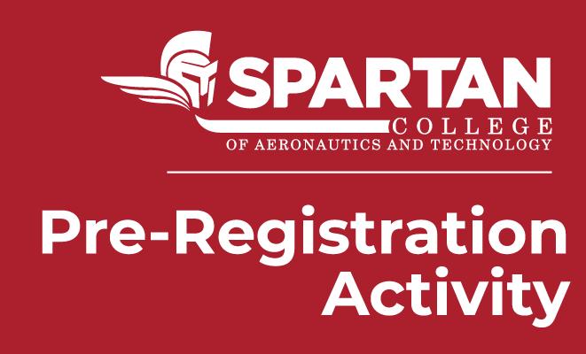Spartan College Pre-Registration Activity