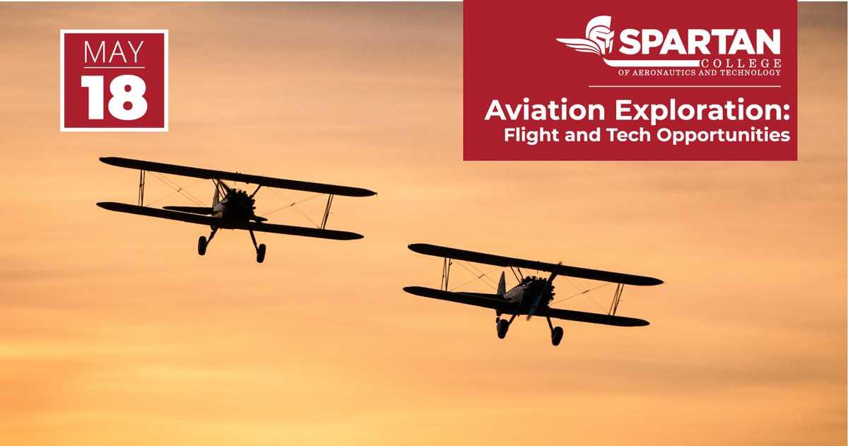 Aviation Exploration Spartan College Event