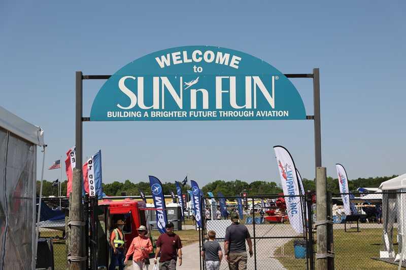 Sun n Fun Aersopace Expo Spartan College