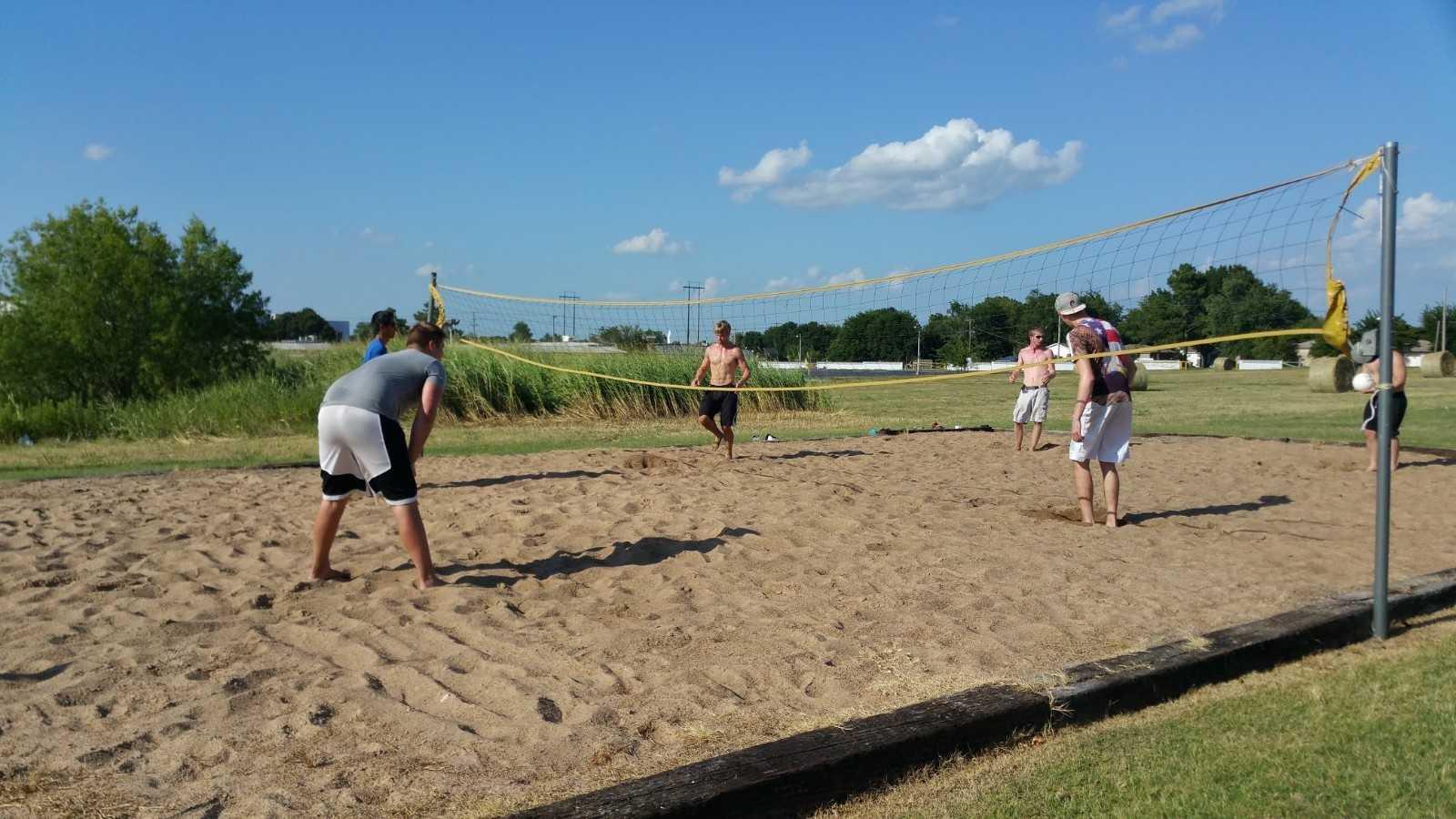 Student Housing Spartan College Volleyball