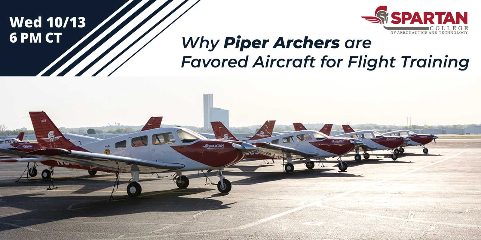 Why Piper Archers are Favored Aircraft for Flight Training Spartan College