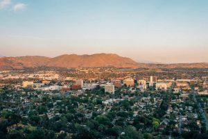 Riverside, CA landscape - Spartan College Riverside campus